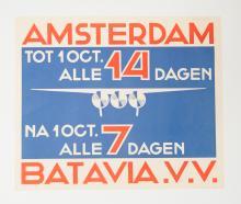Koo, N.P. de (1881-1960) - Airmail poster