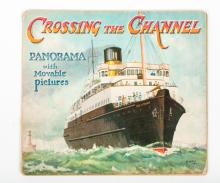 [Movables] Father Tuck's Crossing the Channel. Panorama with movable pictures