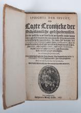 Spieghel der Jeucht, ofte Corte Cronijcke der Nederlandsche geschiedenissen