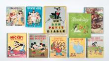 French children's books, incl. Walt Disney