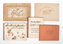 5 children's picture books in German