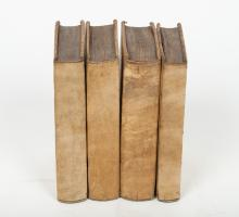 5 fairy tale books in French, late 18th/19th century