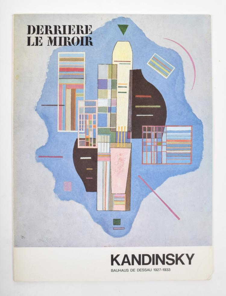 Alechinsky derri re le miroir for Derriere le miroir
