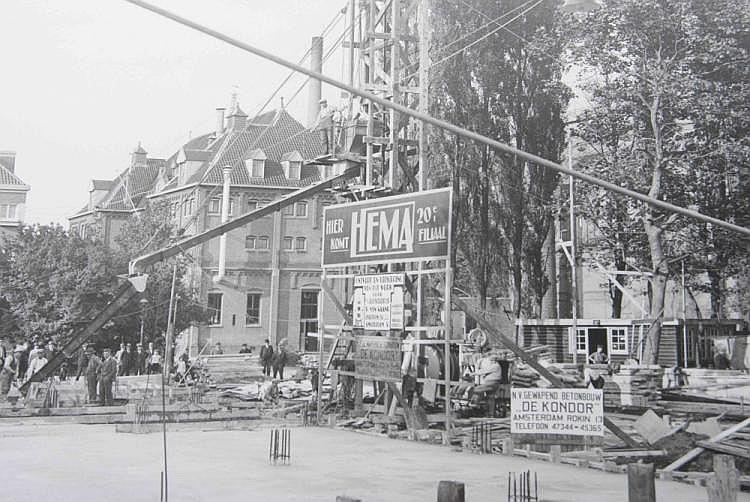 Jan van Dijk (1882 - 1960)  (HEMA and apartments