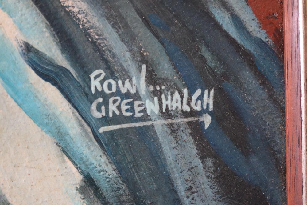 ROWL GREENHALGH LISTED ARTIST