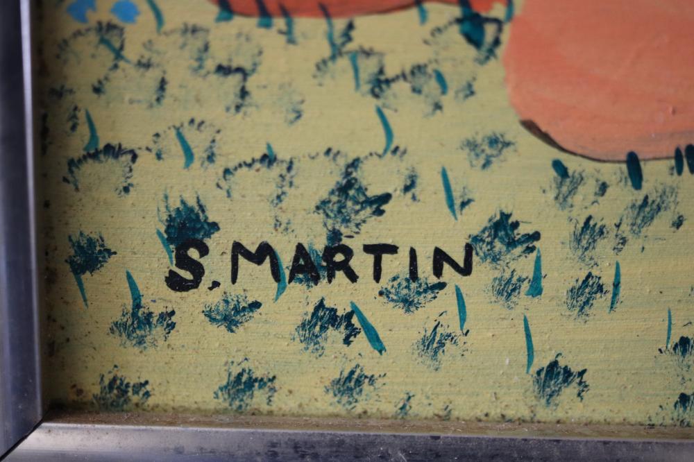 S. MARTIN - ROCKY HILL NEAR EDITH FALLS - ACRYLIC LISTED