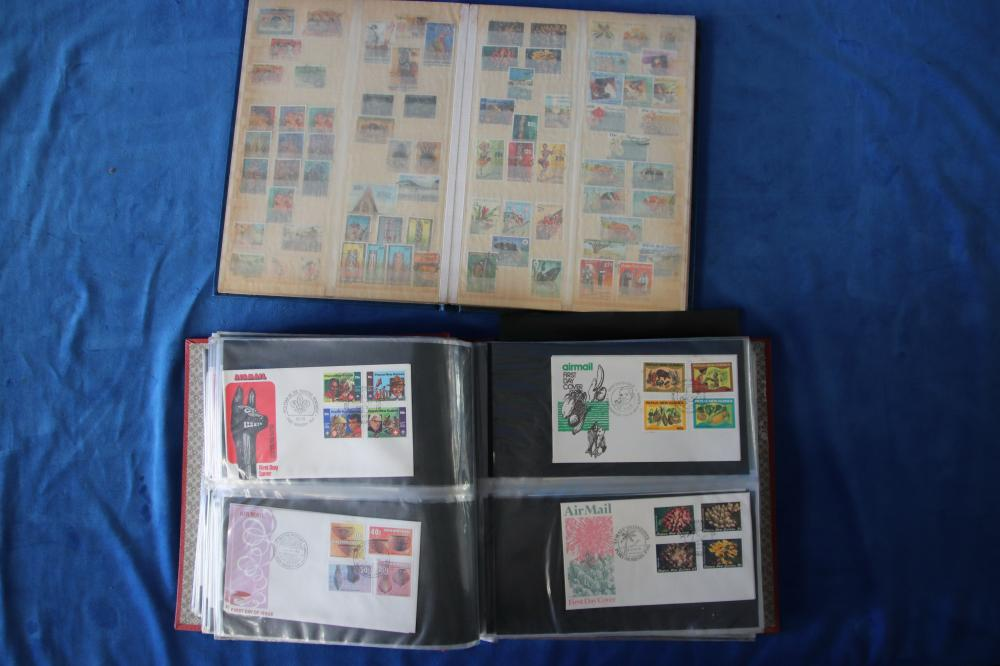 LOT OF PNG STAMPS & COVERS