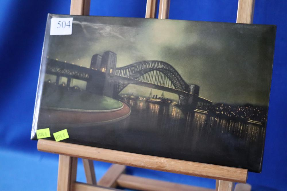 TINPLATE ARTWORK OF SYDNEY HARBOUR