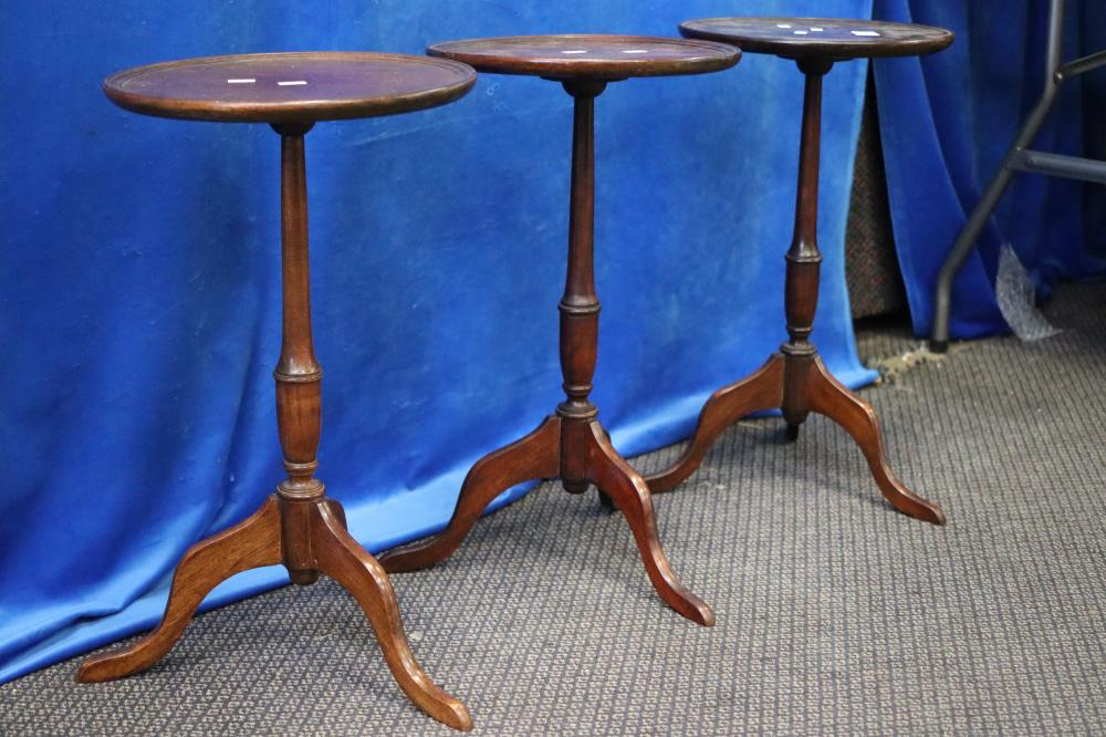 3 SMALL WINE TABLES