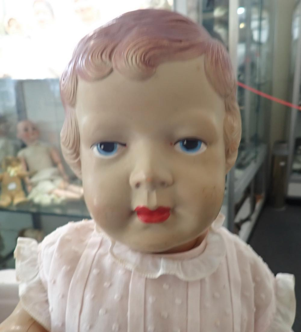 PALITOY CASCELLO PRINCESS ELIZABETH DOLL - MADE IN ENGLAND - GOOD CONDITION MODEL 55 -SOME NEW PAINT