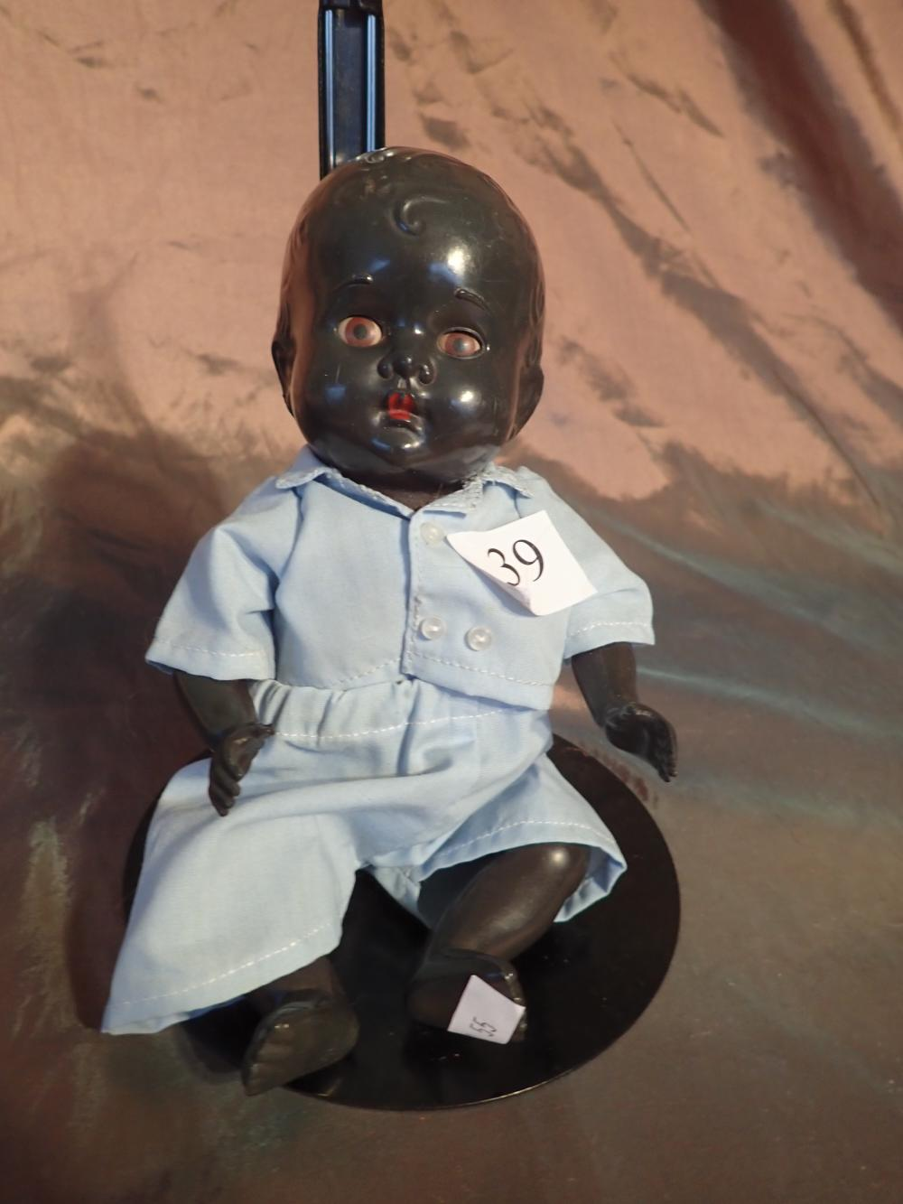"10"" BROWN DOLL - MARKED SUZY - DRESSED IN SHIRT AND PANTS - OFF BACK IS MADE IN AUSTRALIA, IS RARE IN GOOD CONDITION"