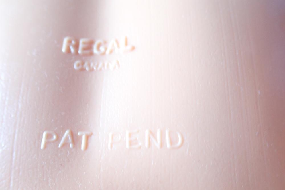 """36"""" HARD PLASTIC REGAL CANADA DOLL, EYES LOOSING COLOUR"""