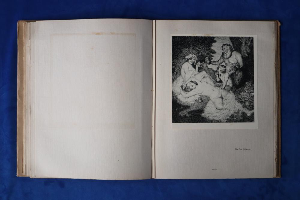 THE PEN DRAWINGS OF NORMAN LINDSAY, 1918 SPECIAL EDITION BOOK 124/150 HAND SIGNED BY NORMAN LINDSAY