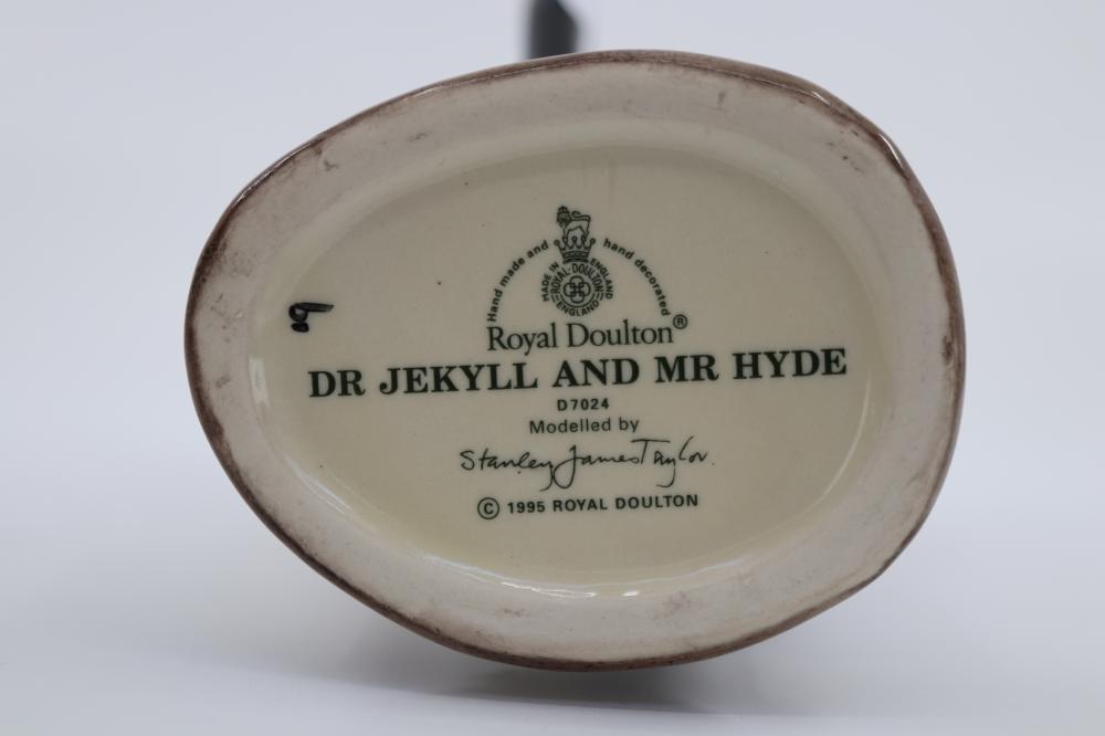 ROYAL DOULTON MR JEKYLL AND MR HYDE TOBY JUG