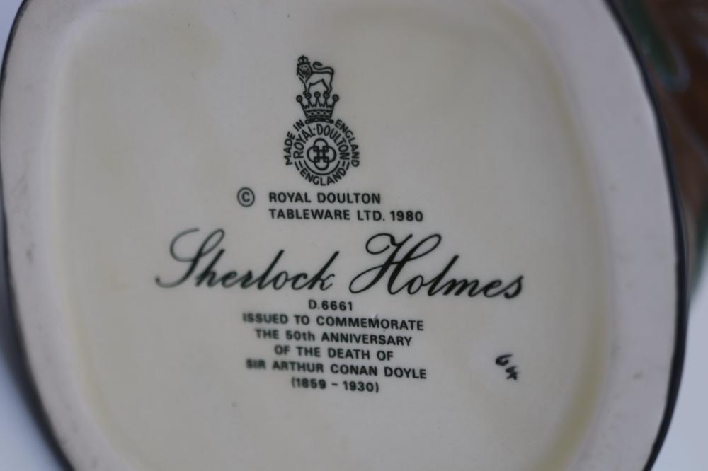 ROYAL DOULTON SHERLOCK HOLMES TOBY JUG