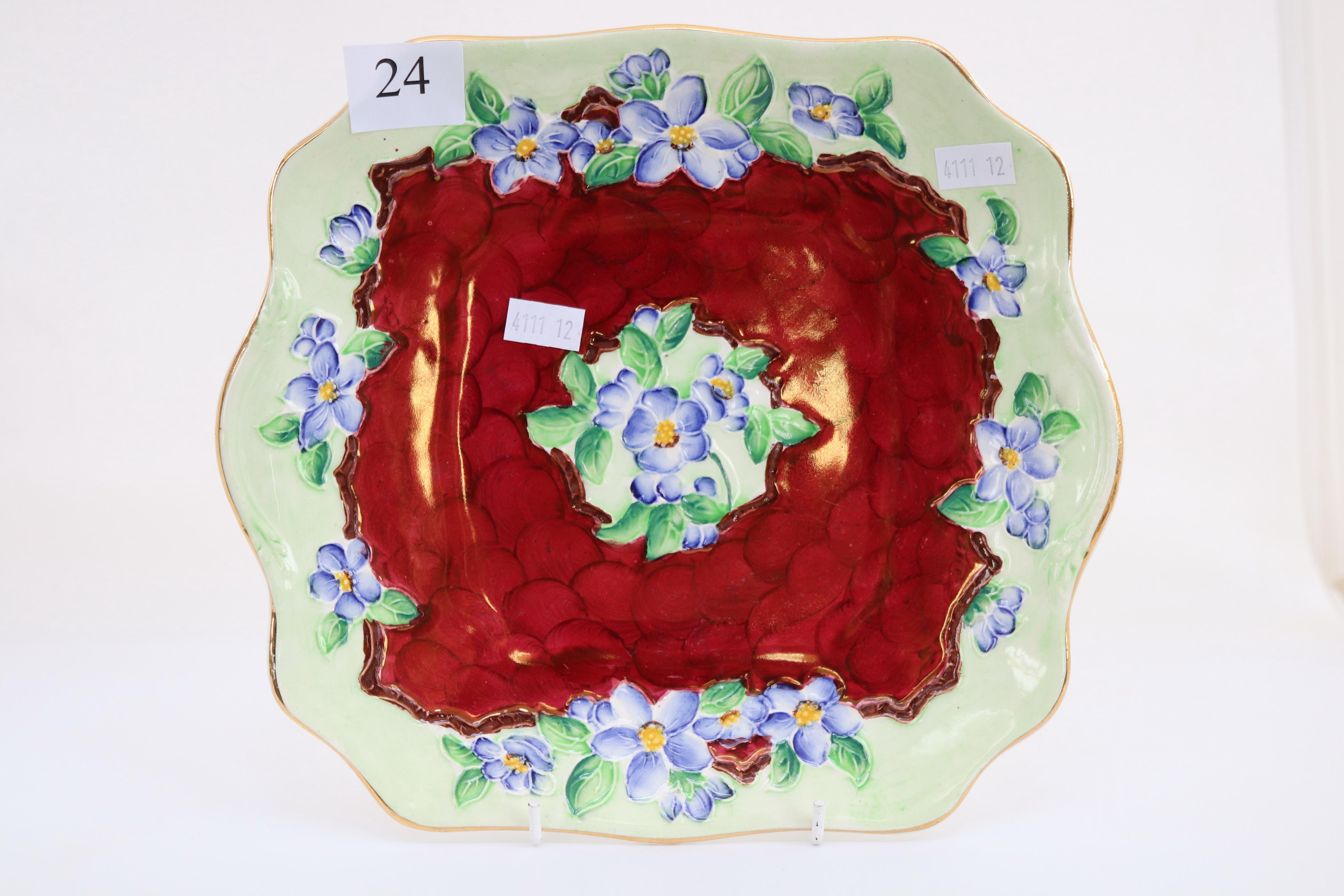 MAILING FLOWER PLATE