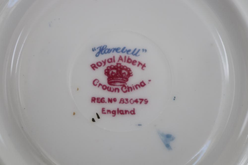 ROYAL ALBERT FLAREBELL PART TEA SET