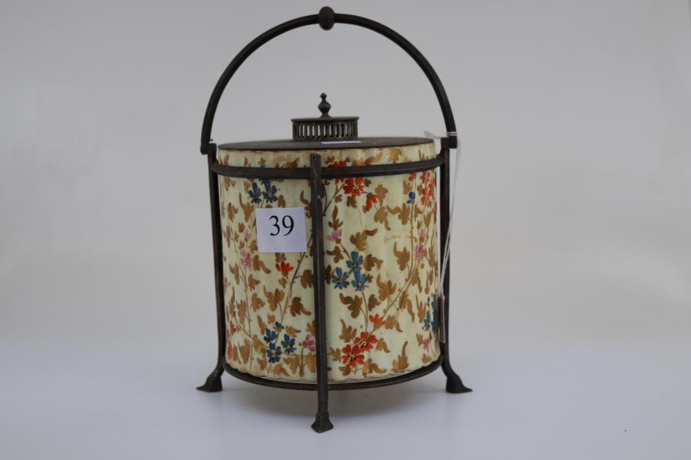 WEDGWOOD BISCUIT BARREL REPAIRED