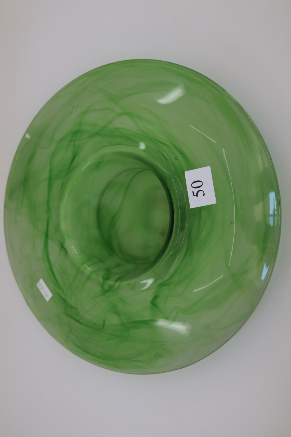 LARGE GREEN BOWL 3CMS WITH CENTRE FROG