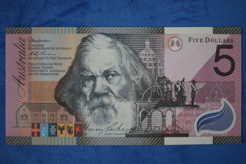$5 POLYMER FEDERATION BANKNOTE