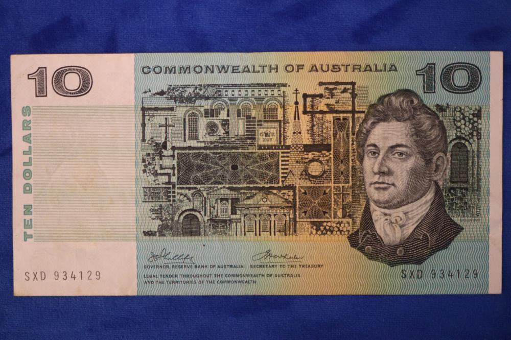 $10 COMMONWEALTH BANK NOTE