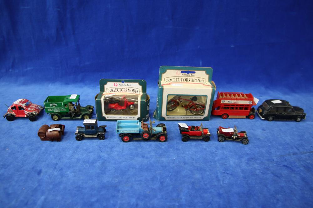 LOT OF TOY CARS ETC
