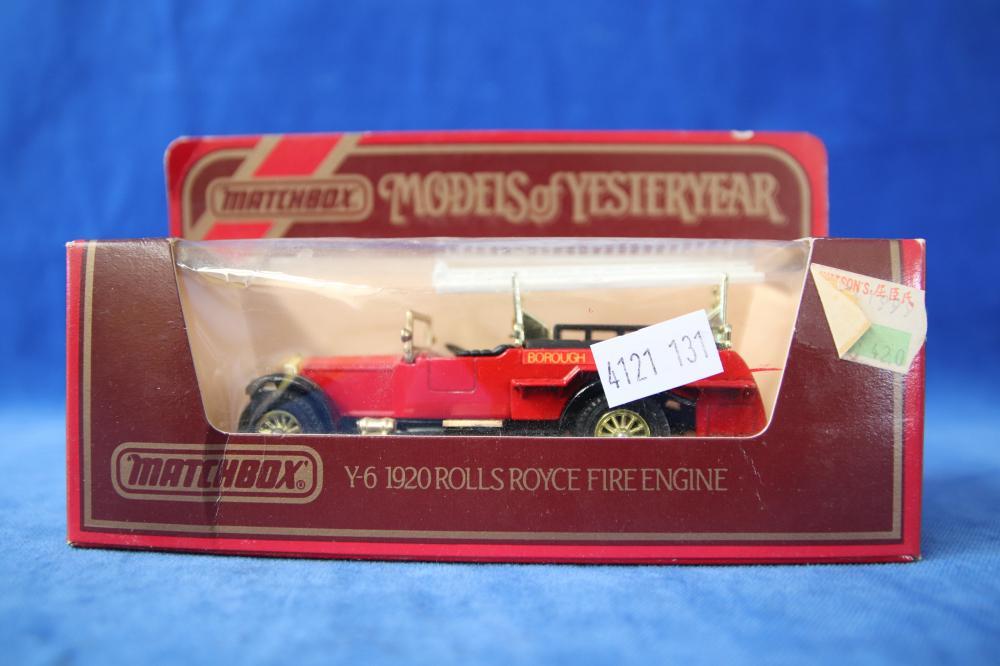 11 MATCHBOX MODELS OF YESTERYEAR MODEL CARS & ONE RUBY LEAGUE MODEL CAR