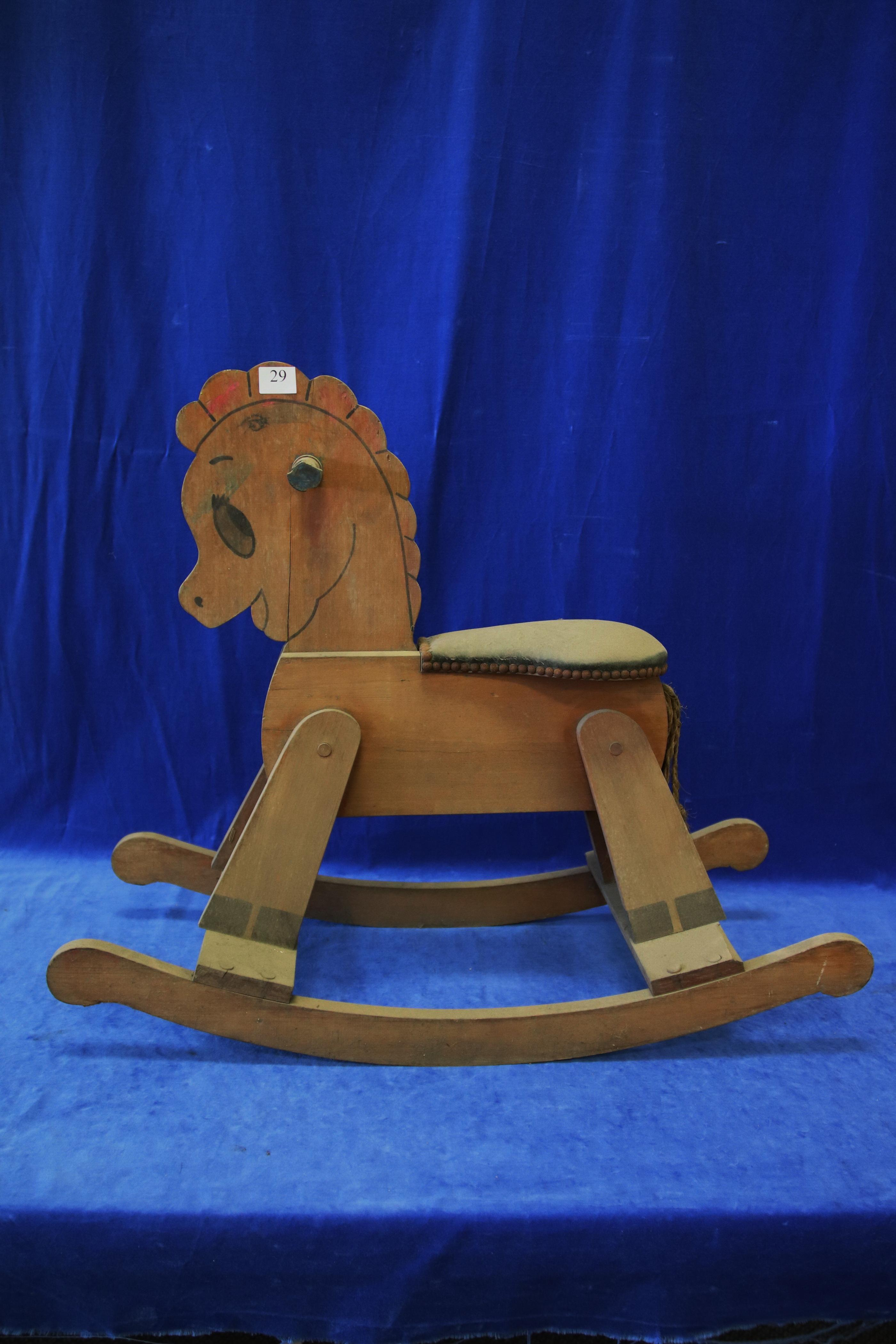 SMALL ROCKING HORSE
