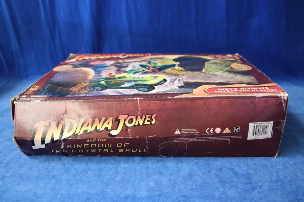 4 X TOLTOYS AUSTRALIAN GAMES & INDIANA JONES ADVENTURE SET