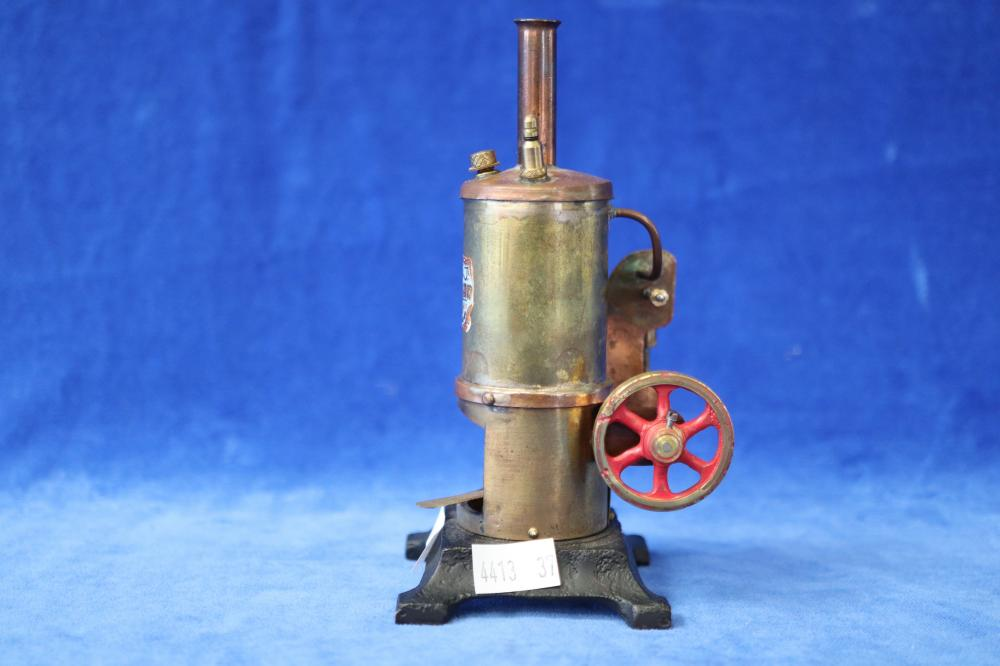 LIVE STEAM WORKING MINIATURE REPLICA OF AUST MADE RENOWN DONKEY STEAM ENGINE