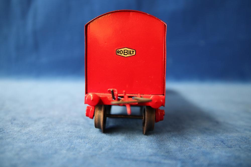 RED ROBILT O GAUGE PASSENGER CARRIAGE