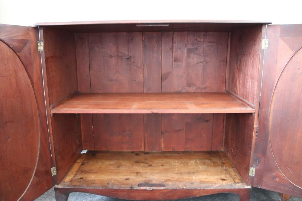 LINEN CHEST MAHOGANY 18TH CENTURY PROVENANCE CINTRA GALLERIES W 1250MM H 1180MM D 585MM