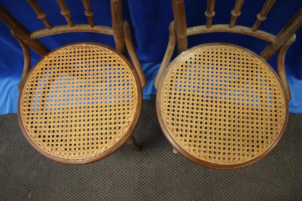 2 BENTWOOD CHAIRS