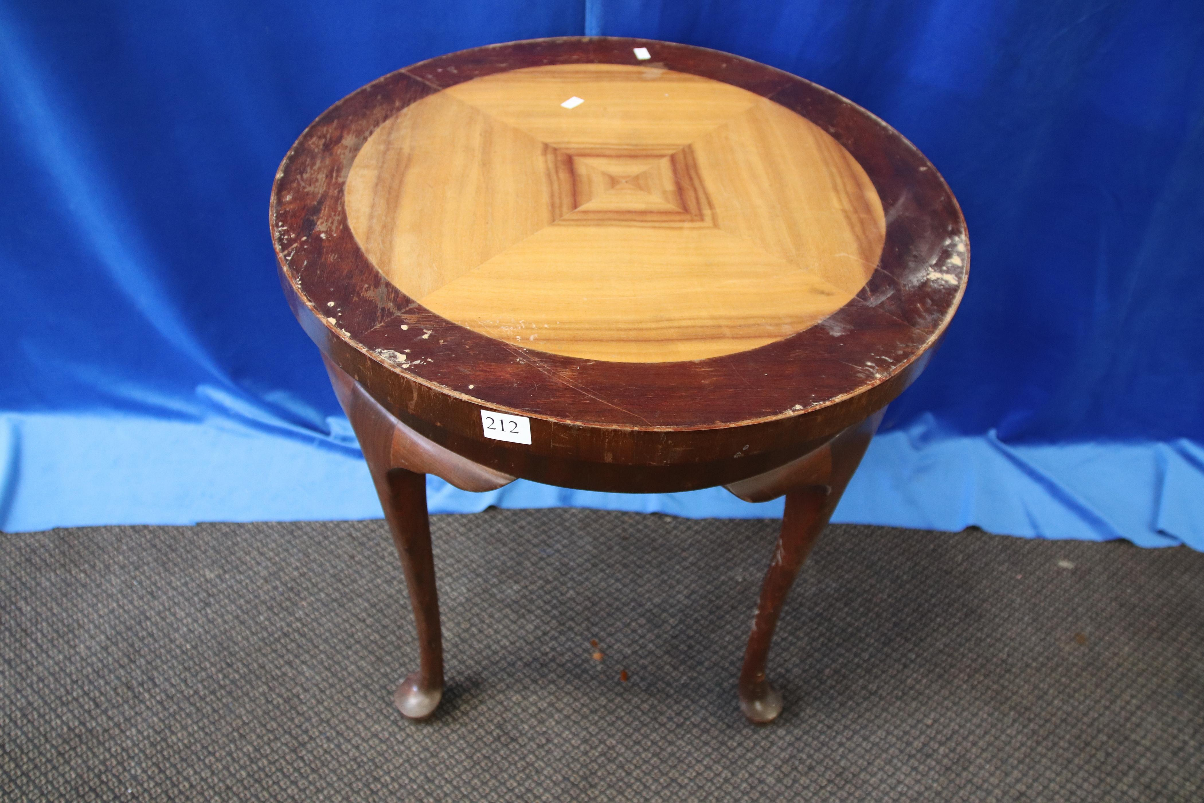 DECO COFFEE TABLE AS FOUND