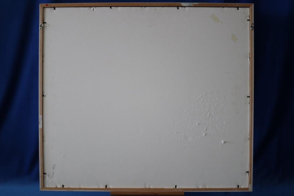 CYRIL GORDON GIBBS TOOMBA RANGE UNDATED WATERCOLOUR ON PAPER 36.3 X 49.2
