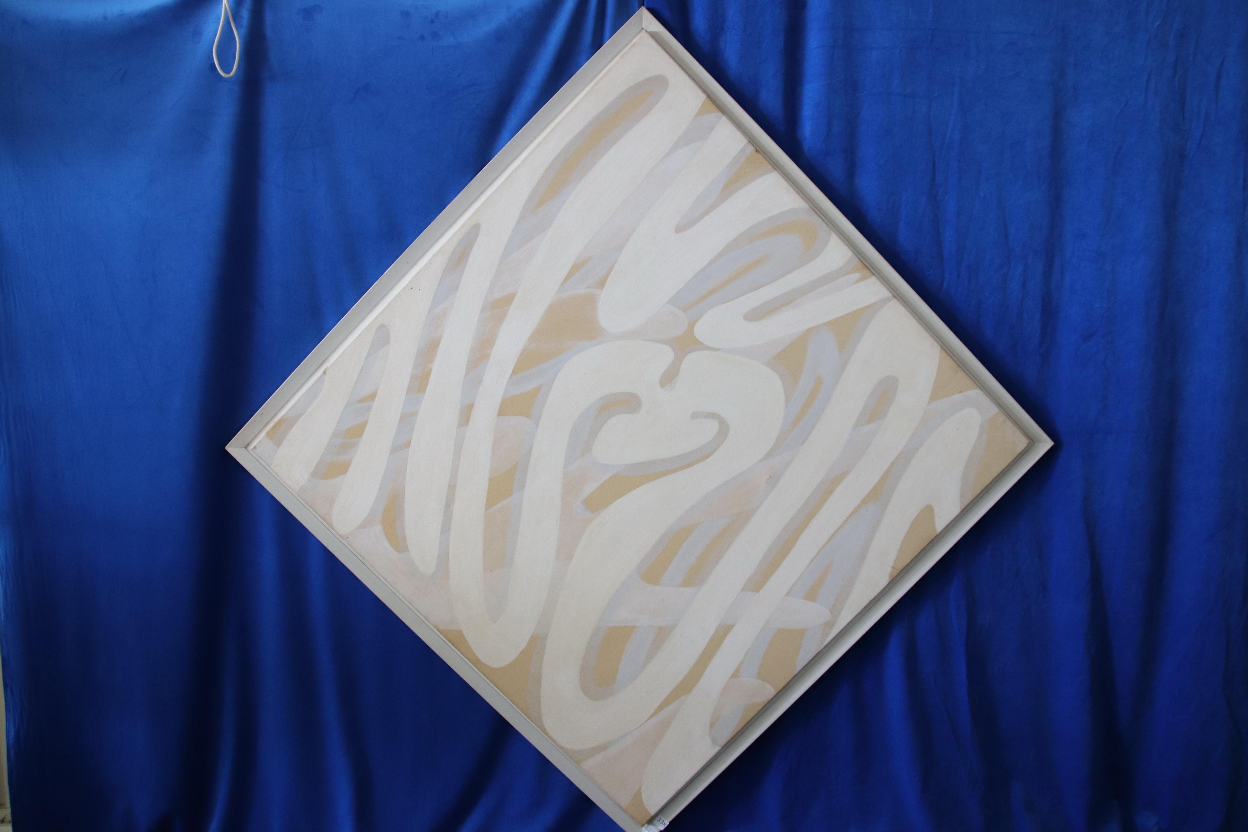 LARGE CAROLE SYMONDS ABSTRACT ART