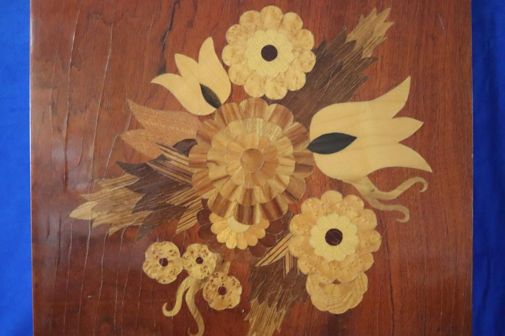 INLAID DECORATIVE TIMBER PANEL