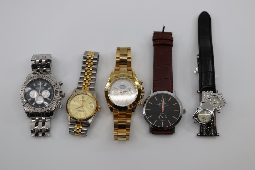 LOT OF COPY WATCHES