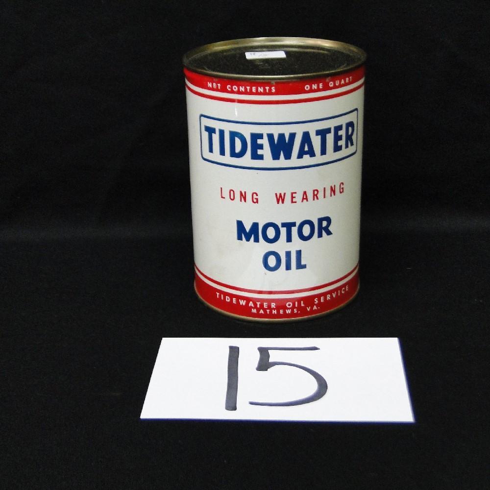 Tidewater Long Wearing Motor Oil Can