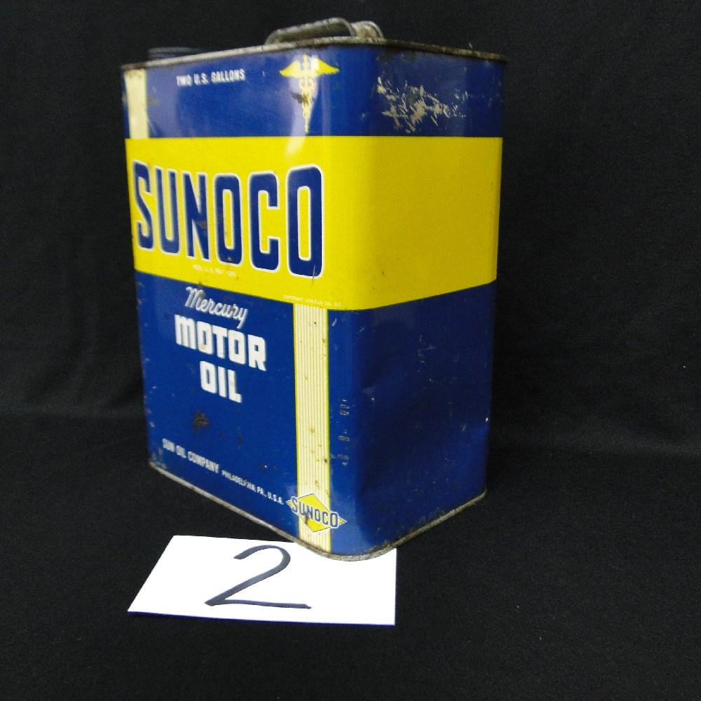 Sunco 2gal. Mercury Motor Oil Can