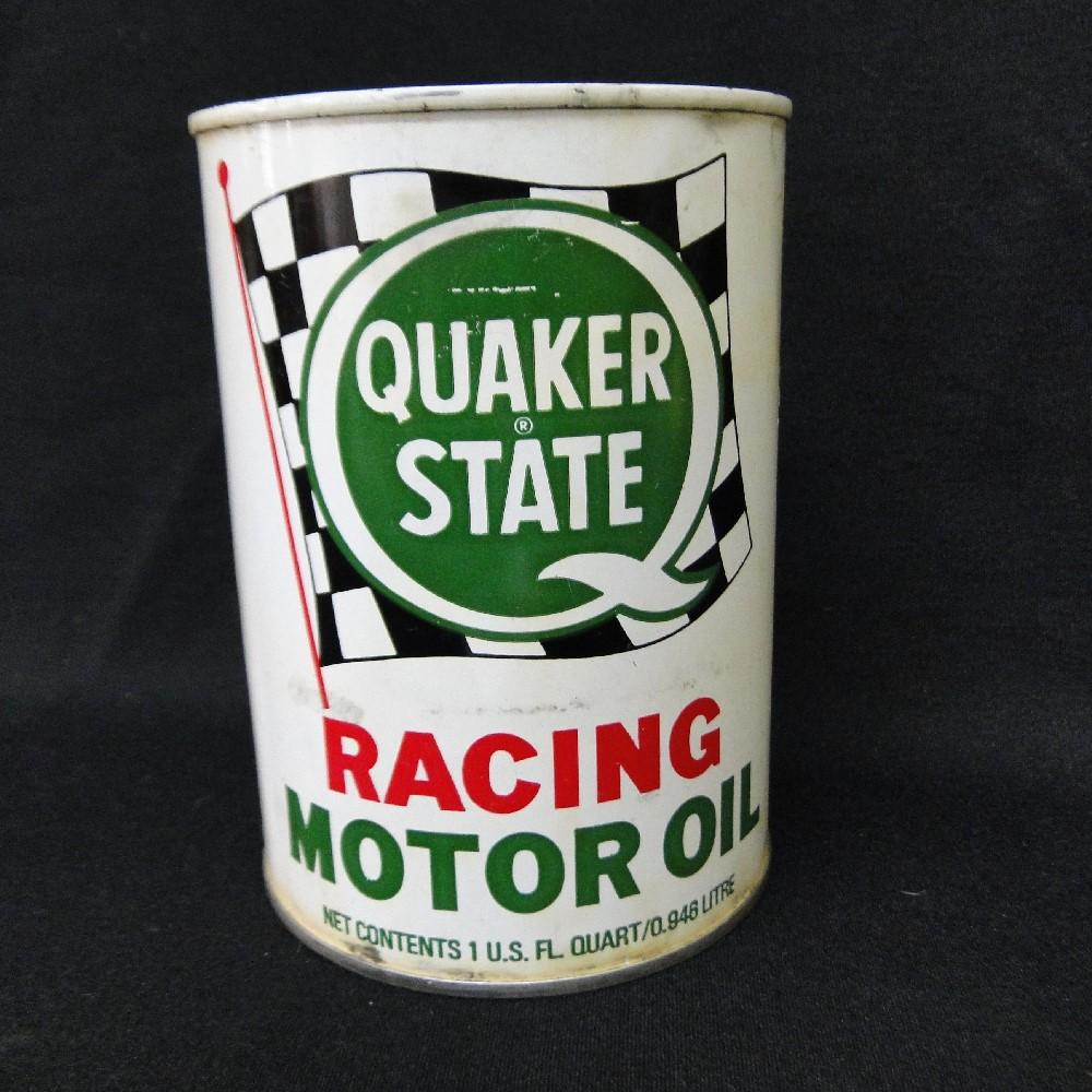 Quaker State Racing Motor Oil Can