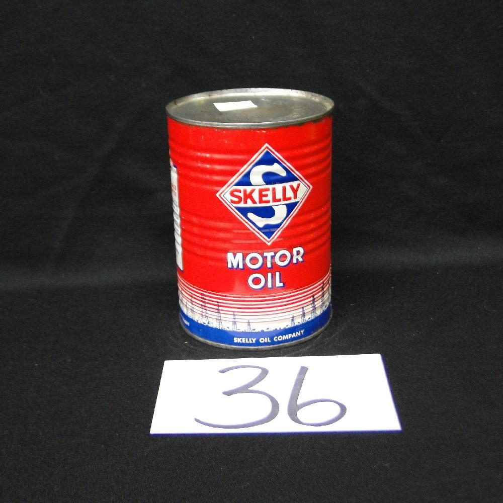 Skelly Motor Oil Can