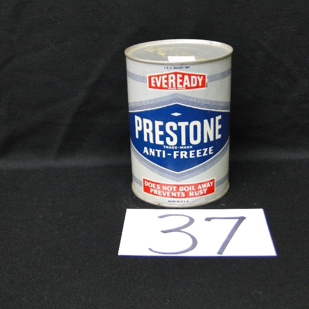 Prestone Anti-freeze Can