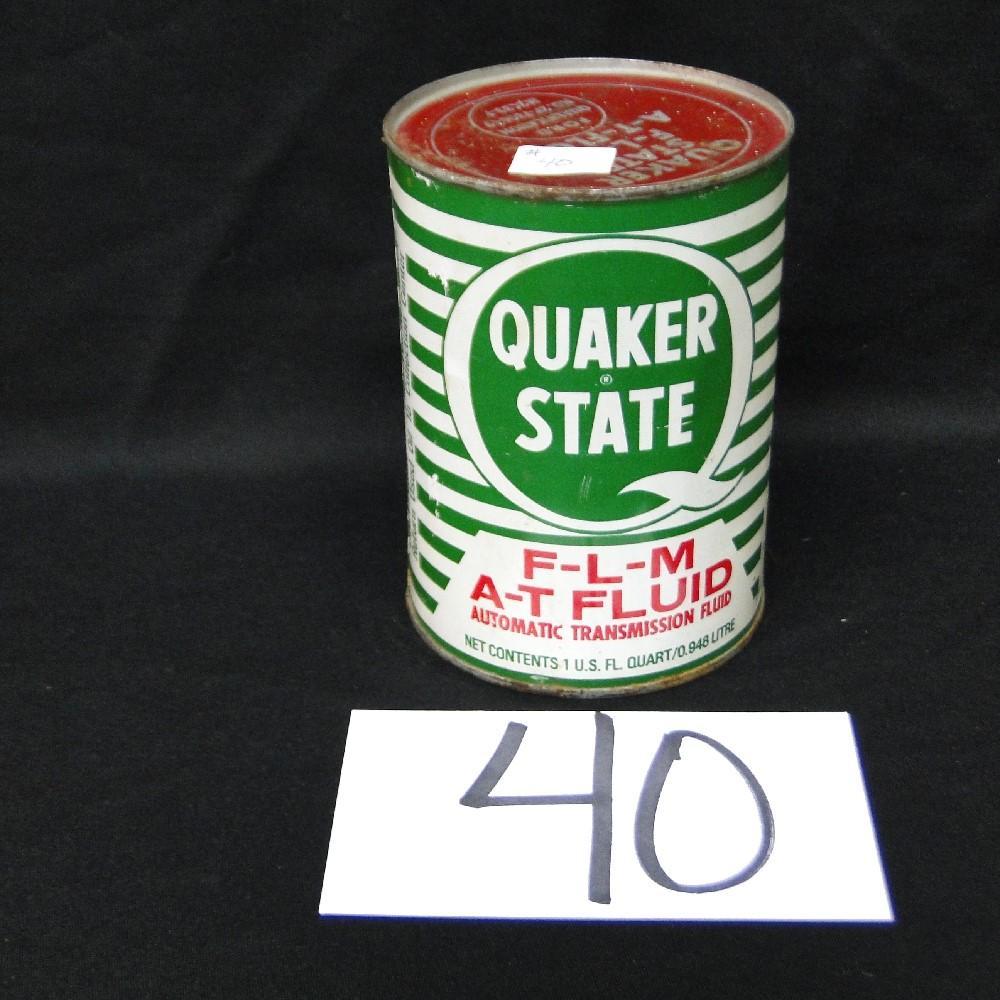 Quaker State F-L-M Transmission Fluid Can