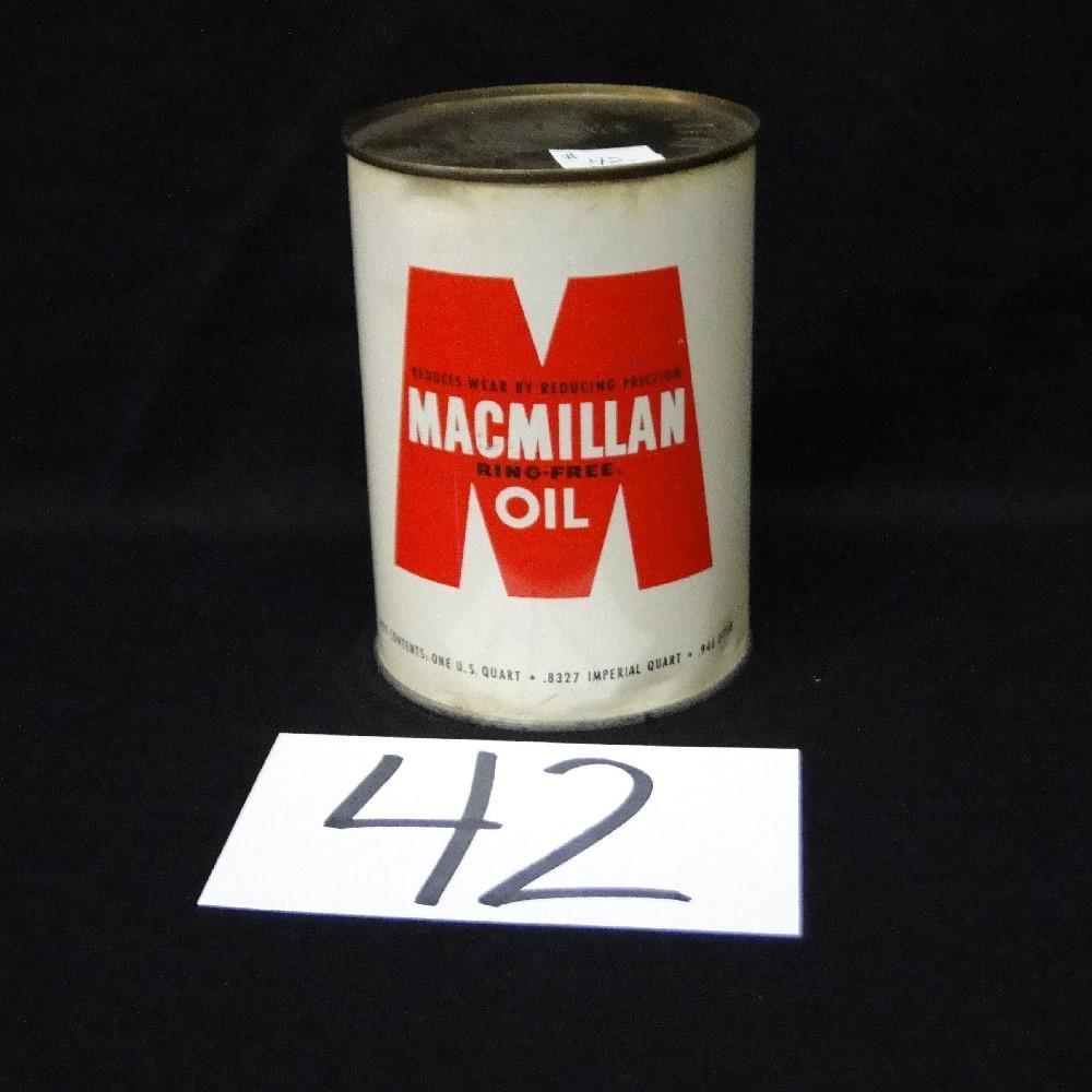 Macmillan Ring-Free Oil Can