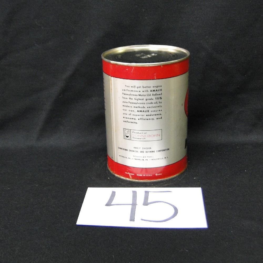 Amalie Motor Oil Can