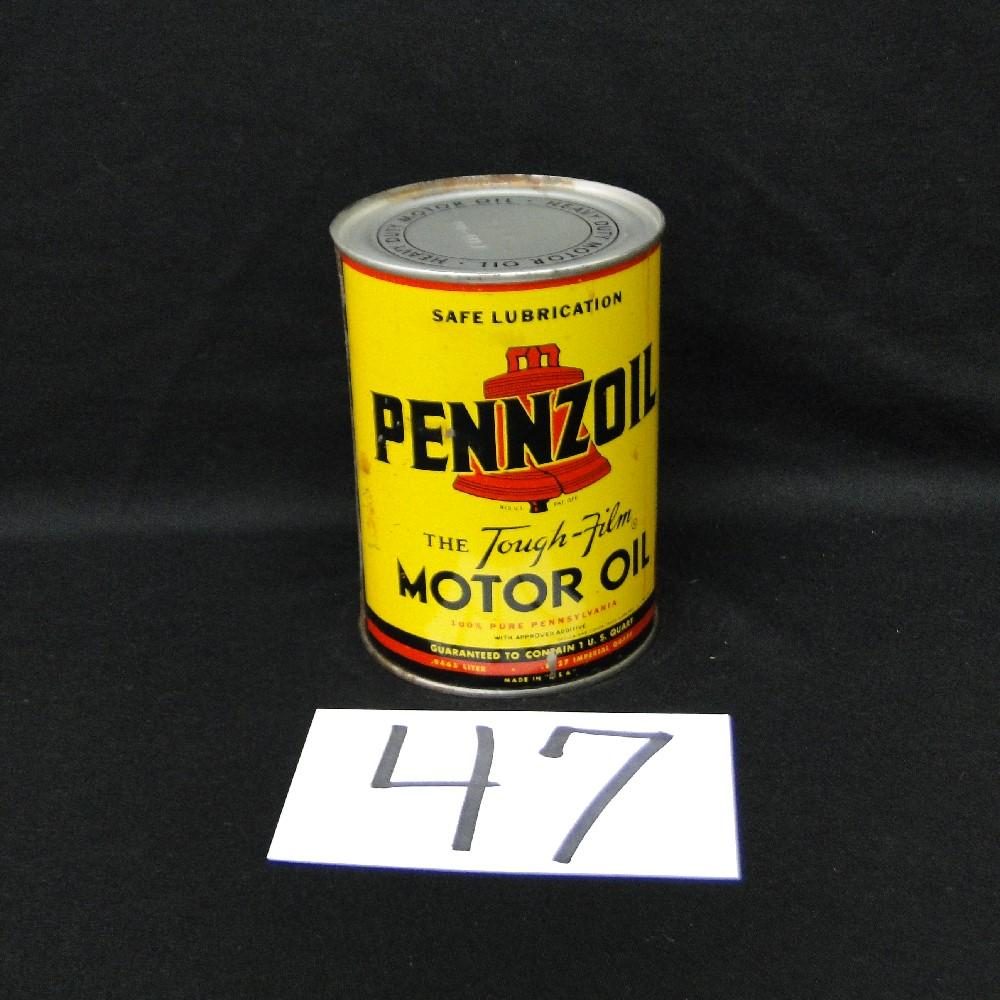 Pennzoil The Tough-Film Motor Can