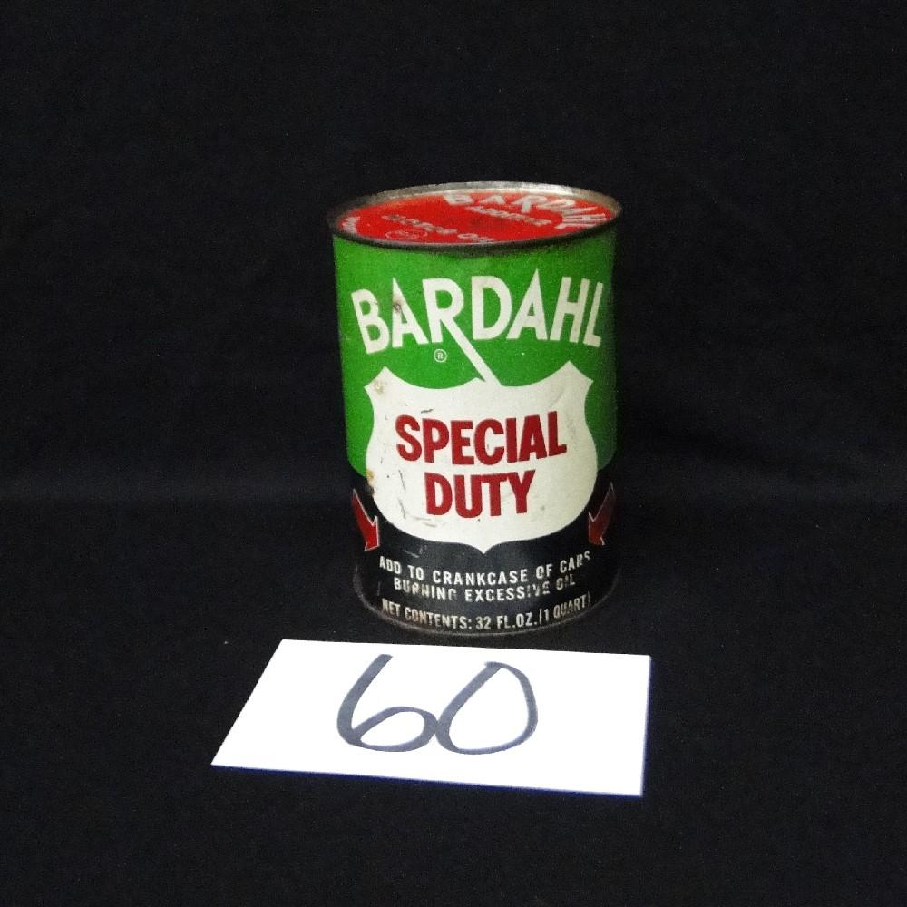 Bardahl Special Duty Oil Can