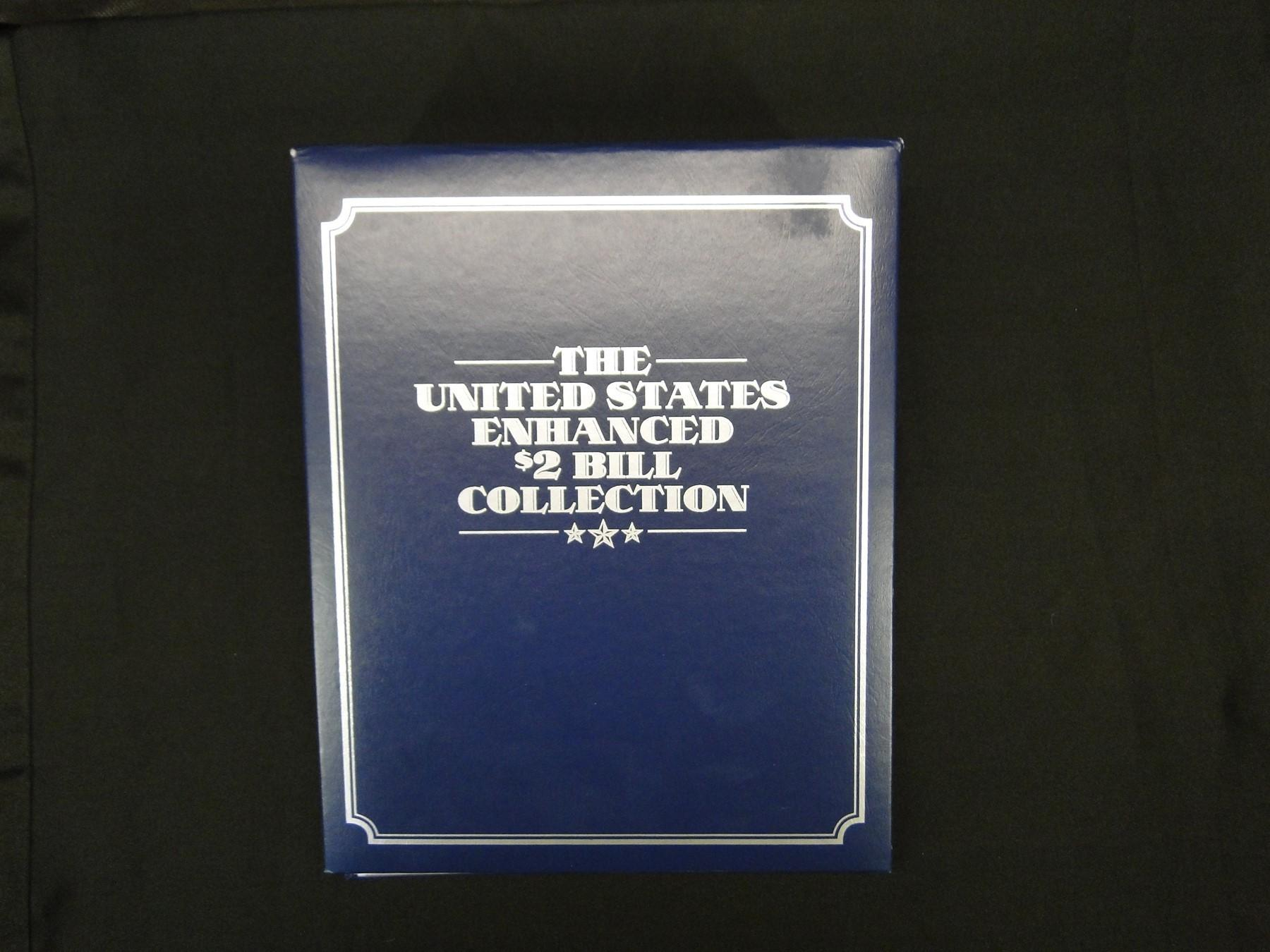 19 United States Enhanced $2. Bill Collection
