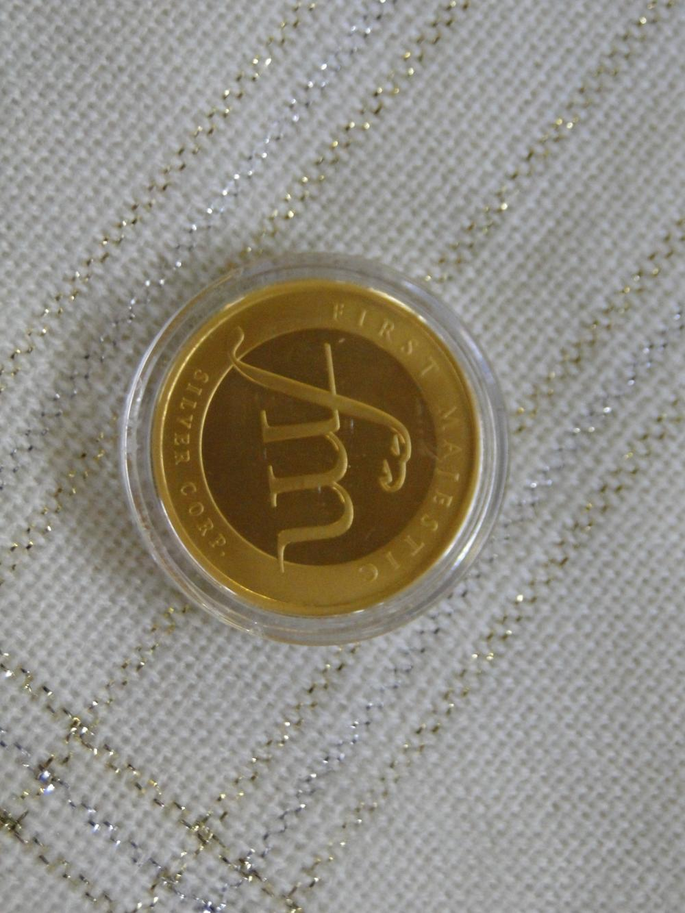 10th Anniv. First Majestic 1 Troy oz. Gold Coin